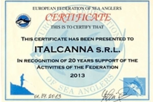 Recognized by the European Federation E.F.S.A.